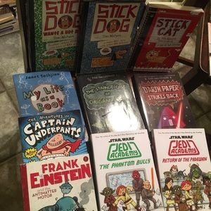 10 kids books VGUC